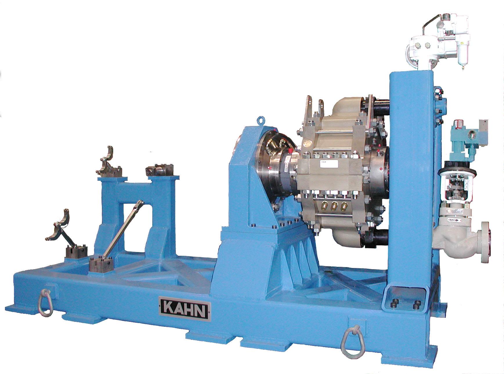 Kahn industries hydraulic dynamometers Hydraulic motor testing